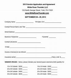 Vendor Registration Form Template Vendor Application Template 12 Free Word Pdf Documents