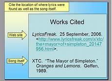 Is It Work Or Works Cited Ta Admits She Doesn T Actually Look At Works Cited Page