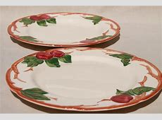 vintage Franciscan apple pottery dinnerware American made