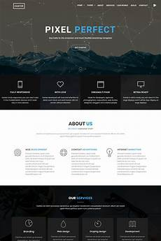 Php Site Template Kanter Creative Responsive Minimalistic Html Website