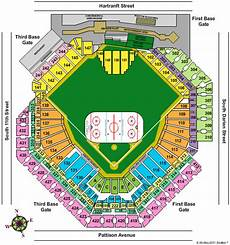 Citizens Bank Seating Chart Billy Joel Tickets Seating Chart Citizens Bank Park