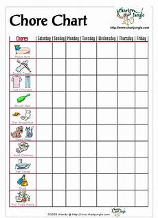Little Kid Chore Chart 23 Best Images About Chore Charts On Pinterest Age