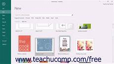 How To Find A Publisher Publisher 2016 Tutorial Creating New Publications