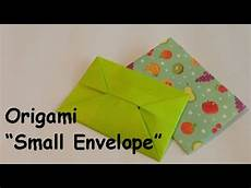 Small Envelope Origami Small Envelope ぽち袋の折り方 Youtube