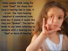 Deaf Or Hearing Impaired Quot Deaf Quot Or Quot Hard Of Hearing Quot What Might I Learn From