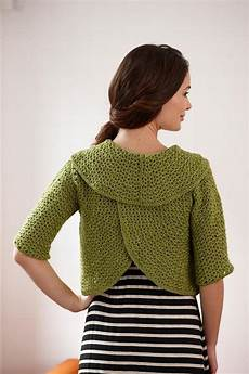 about crochet cardigan kit craftsy