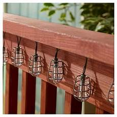 Target Outdoor Lights Smart Solar String Light Cornelius Pewter 20 White