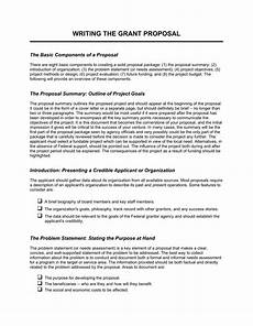 How To Write Grant Proposal How To Write A Business Proposal For Grant Oxynux Org