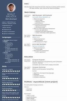 How To Design Resume Self Employed Resume Samples Amp Templates Web Developer