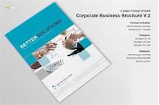 Business Brochure Corporate Business Brochure Vol 2 Brochure Templates