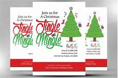 Office Christmas Party Flyer Templates Christmas Office Invitation Flyer Flyer Templates