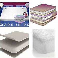 orthopaedic quilted pocket memory foam mattress