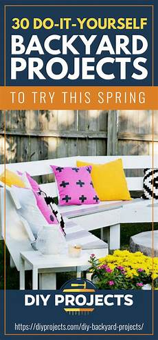 30 diy backyard projects to try this diy projects