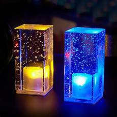 Led Party Table Lights Creative Led Night Light Rechargeable Color Light Crystal