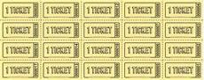 Sheets Of Raffle Tickets Stock Sheet Tickets