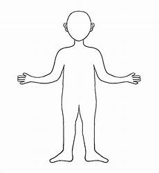 Body Template Outline 28 Body Outline Templates Free Pdf Png Formats