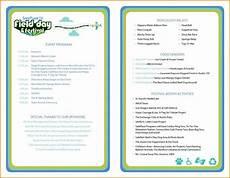Event Program Booklet Template Event Program Template In 2020 Event Program