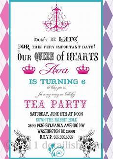 invitation ideas for party tea party invitation ideas