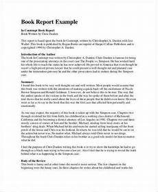 Essay Report Example 20 Printable Report Writing Format Examples Pdf Examples