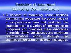 Integrated Marketing Communications Definition An Introduction To Integrated Marketing Communications