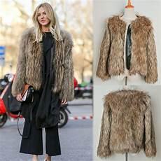 warm fur coats for winter warm s jacket faux fur sleeve coats