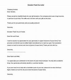 Thank You For Your Donation Letter Template 29 Donation Letter Templates Pdf Doc Free Amp Premium