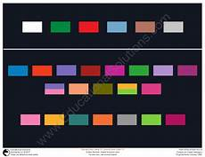 Sound Color Chart Sound Color Watermark By Educational Solutions Worldwide