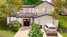family home the sims 3 house build