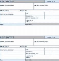 Rent Receipt Format Word Rent Receipt Word Format Receipt Template
