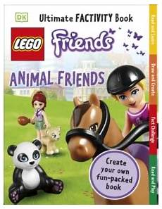 lego friends animal friends ultimate factivity book by