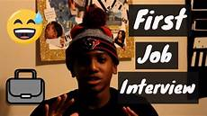 My First Interview My First Job Interview At 14 Years Old Youtube