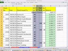 Open Office Checkbook Register Excel And Open Office Check Register