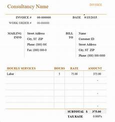 Software Consulting Invoice Template Free 10 Consulting Invoice Samples In Google Docs