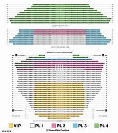 Gammage Seating Chart 18 19 Broadway Seating Chart Asu Gammage