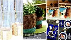 how to add touches with diy rope crafts