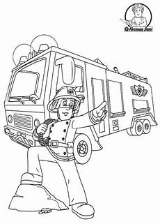 Ausmalbild Feuerwehrmann Sam Fireman Sam Coloring Pages To And Print For Free