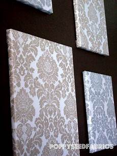 poppyseed fabrics fabric wall tutorial