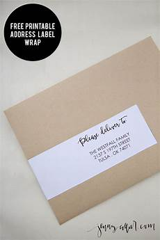 How To Label An Envelope 17 Best Images About Envelope Wrap Labels On Pinterest