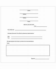 Dr Note Templates Free 37 Free Doctors Note Templates Free Amp Premium Templates