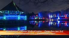 Meadowlark Park Lights Meadowlark Garden S Winter Walk Of Lights Nova Now