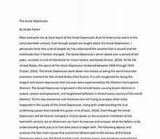 Causes Of The Great Depression Essay Causes Great Depression Essays