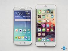 Samsung S6 Vs Iphone 6 Samsung Galaxy S6 Vs Apple Iphone 6 Plus