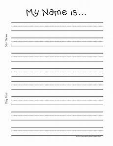 Writing Name Template 24 Images Of Name Practice Printable Writing Template