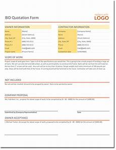 Quotation Proposal Format Quotation Templates Download Free Quotes For Word Excel