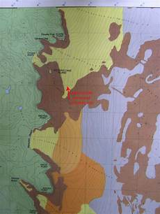seagrass beds appear on navigational charts in location proposed site to sink our destroyer