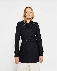 zara coats winter sale pins image 2 of water resistant trench coat from zara trench