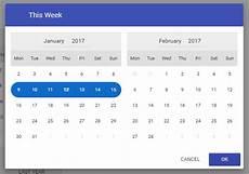Angular Material Design Datepicker Material Date Range Picker Service Directive Angular Script