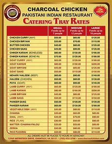 Catering Menu Card Indian Food Catering Spice Up Your Next Big Event