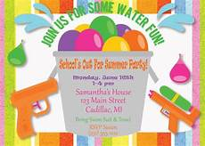 Summer Party Invites Kids Party Invitation Kids Summer Party Invitation Kids