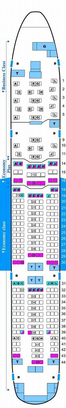 Alitalia Flight 631 Seating Chart Az 785 Az 784 Airplane Seats Air One Boeing 777